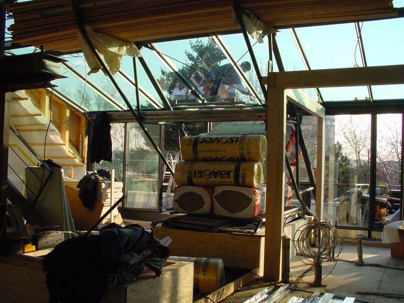d sseldorf loft im dachgeschoss bananen unter stahl und glas pflanzen f r menschen. Black Bedroom Furniture Sets. Home Design Ideas